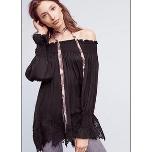 NWT Anthropologie off the shoulder top
