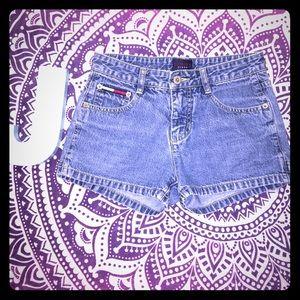 Tommy Hilfiger Pants - Vintage VTG Tommy Jeans Denim Shorts