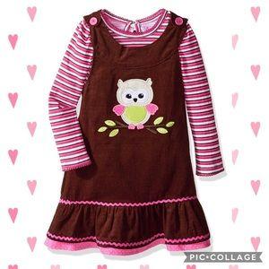Nanette Baby Other - Nanette girl's owl dress 3T EUC
