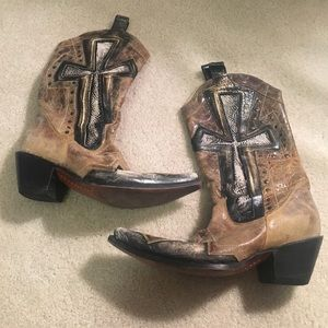 Stetson Shoes - Stetson Cowgirl Boots