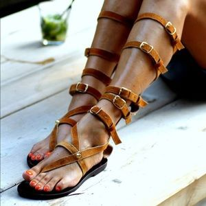 Elina Linardaki Shoes - Elina Linardaki Huntress Sandals