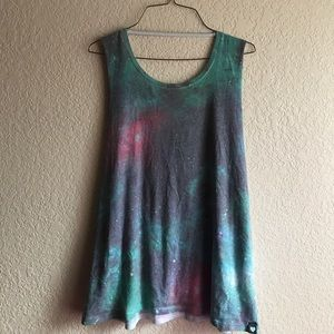 Kendall & Kylie Tops - Low Back Space Tank