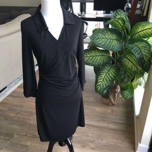 Laundry by Design Dresses & Skirts - LAUNDRY Faux Wrap Dress Black