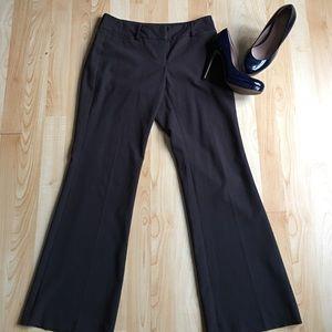 Dark brown New York and Co. dress pants