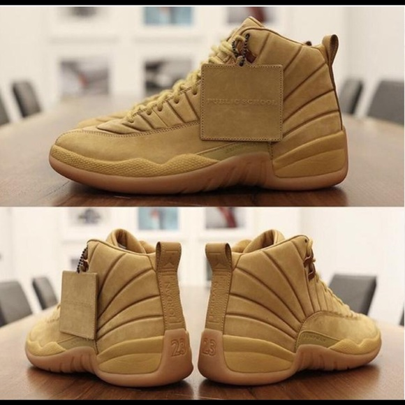 sale retailer e27d5 40c57 Nike Air Jordan Retro 12 X PSNY Wheat NWT