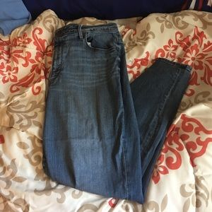 LOFT Denim - Loft high wasted jeans