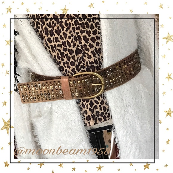 Buckle Accessories - Leather Buckle Belt💕🦋🌵