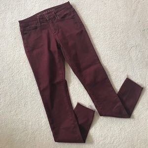 articles of society Denim - Burgundy Articles of Society Jeans