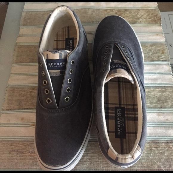 a79563245bc Sperry Men s Laceless Boat Shoes (12). M 58d6c9d37fab3a51a0016939