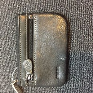 Fossil Handbags - Fossil leather coin purse