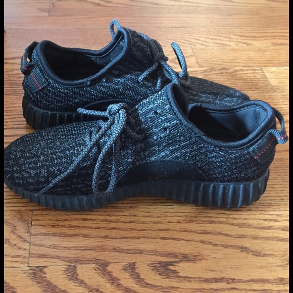 a30fd5f7145 Fake yeezy boost pirate black women's 8.5/men's 7