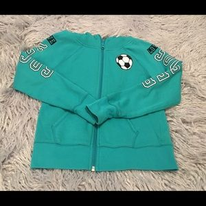 Justice Other - Justice Soccer Jacket/Hoodie 💕