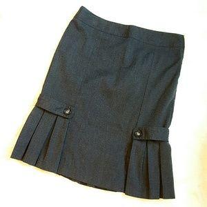 A. Byer Dresses & Skirts - A. BYER pleated dark grey skirt