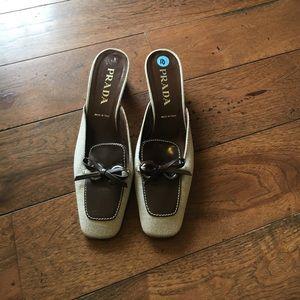 Prada Shoes - Authentic Prada Mules