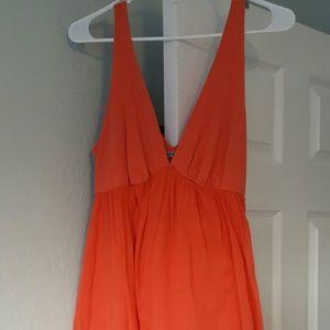 Velvet Dresses & Skirts - PRICE DROP! GORGEOUS Coral Dress by Velvet