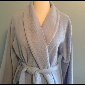 Cabernet Other - Cozy Blue Full-Length Robe