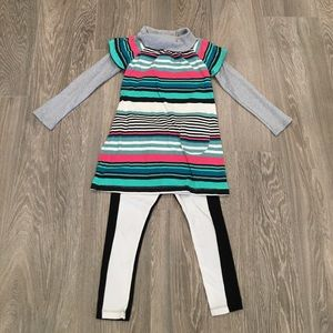 Tea Collection Other - Tea Collection Altenberg Dress and Leggings