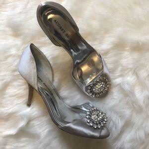 Audrey Brooke Shoes - Satin wedding shoes