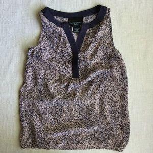 Cynthia Rowley Tops - Silk Floral Sleeveless Top