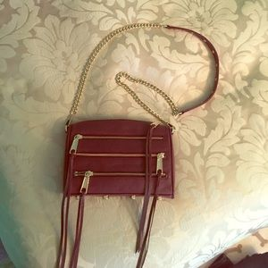 SALE  NWOT Rebecca Minkoff maroon crossbody bag