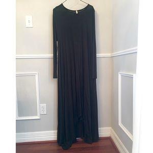 Maxi Draping Dress