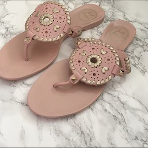 Jack Rogers Shoes - Jack Rogers blush jelly sandals size 7