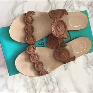 Jack Rogers Shoes - Jack Rogers Lauren in cognac sandals size 7.5