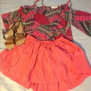 United Colors Of Benetton Dresses & Skirts - NWOT United Benneton pink circle skirt sz S/CH