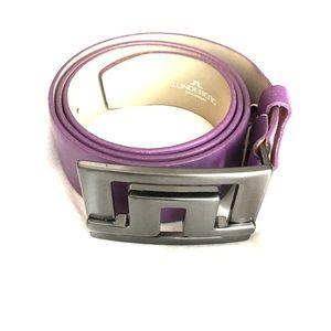 J. Lindeberg Other - Purple J.Lindeberg golf belt- size 34