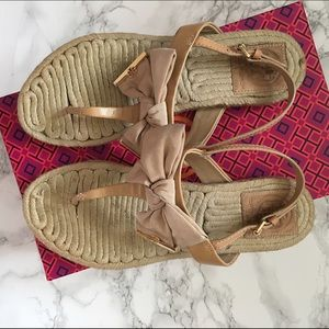 Tory Burch Shoes - Tory Burch Camelia espadrilles size 7.5.
