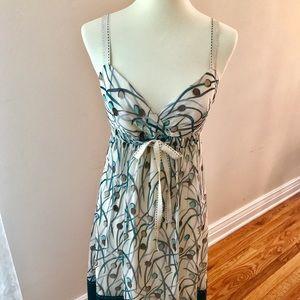 BCBGMaxAzria Dresses & Skirts - BCBGMAXAZRIA Empire waist Print Dress