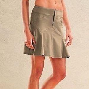 Athleta Dresses & Skirts - Athleta Beige All Terrain Athletic Skirt