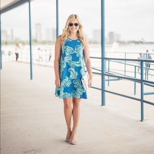 Lilly Pulitzer Swing Dress 💙💚