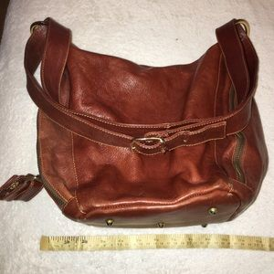 Mario Orlandi Handbags - NWOT Marino Orlandi 100% leather convertible bag