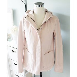 Blush Pink Winter Coat w/Hood