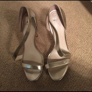 B Brian Atwood Shoes - B Brian Atwood gold heel