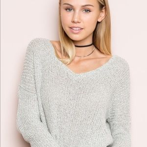 Brandy Melville Grey Sweater