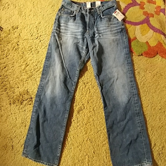 Lucky Brand size 30 dungaree jeans 30 x 32