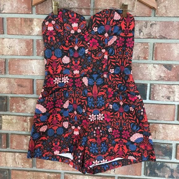 a7f754a106 H M Pants - Floral romper H M Conscious