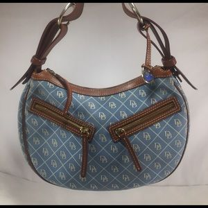 DOONEY & BOURKE Powder Blue Signature Hobo
