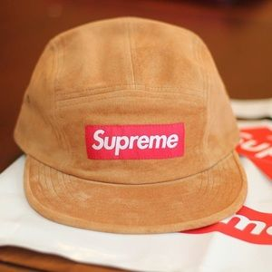 Supreme Other - Supreme Suede Camp Cap