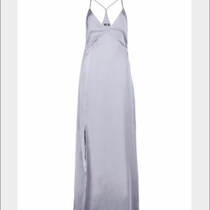 Boohoo Dresses & Skirts - Floor length dress with slit on side