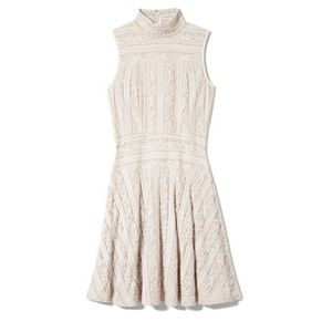 Vince Camuto Dresses & Skirts - Vince Camuto Cream Lace Fit and Flare Dress
