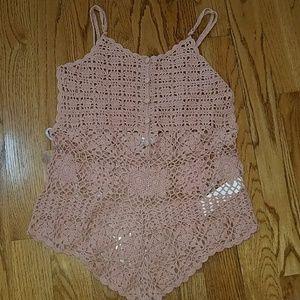 Somedays Lovin Dresses & Skirts - Crochet Romper