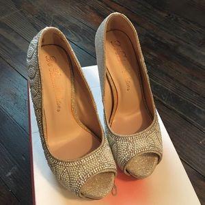 De Blossom Shoes - De Blossom Collection sparkle  heels