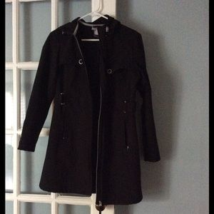 Free Country Jackets & Blazers - Black jacket with hood
