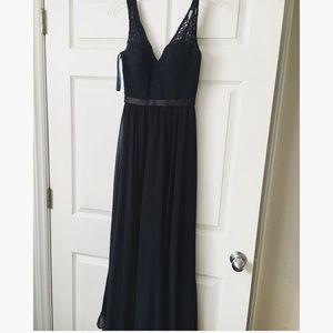 Mori Lee Dresses & Skirts - Navy blue Mori Lee Bridesmaid Dress