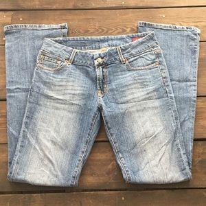 Seven7 Denim - EUC Seven7 Light Wash Boot Leg Jeans