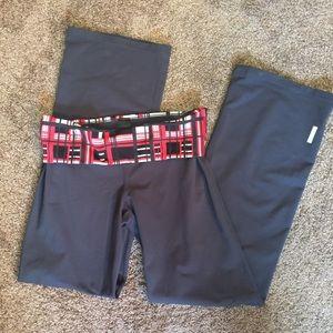 Zella Pants - Zella Gray Flare Yoga Pants