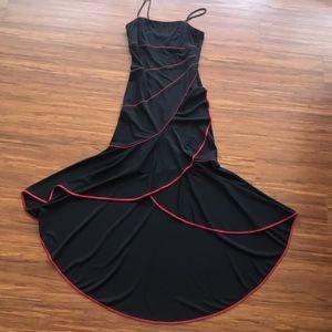 Blondie Nites Dresses & Skirts - Black & Red High Low Dress